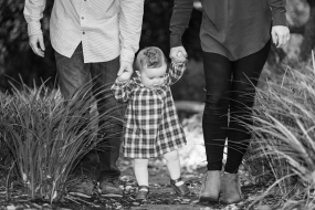 Heath Family Photo Session at the Arboretum in Wilmington, NC on November 12, 2017. Photo By: Bradley Pearce